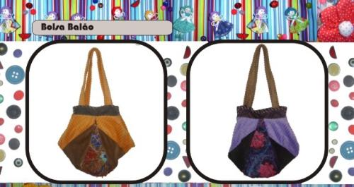 Bolsa artesanal customizada (051)