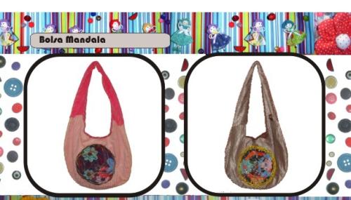 Bolsa artesanal customizada