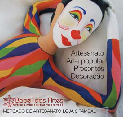 Anúncio Babel das Artes - Cenário Cultural ed. 15