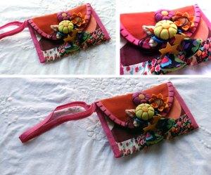 mini-carteira-fuxico-tecido