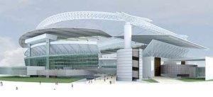 """O estádio do Recife ficará na """"Cidade da Copa"""""""