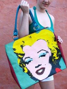 bolsa-pintada-marilyn-serigrafia