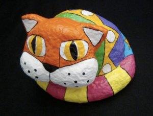 gato-pintado-papel-mache
