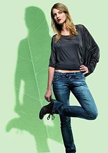 O jeans da Lenzing Fibers é feito com fibra celulósica