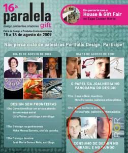 Divulgação de Paralela Gift inclui obra de Oziel Coutinho.