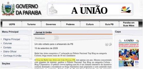 babeldasartes-jornal-a-união