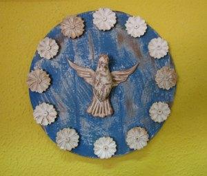Divino Espírito Santo redondo (22 cm)