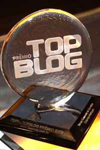 Troféu TOP BLOG: Babel das Artes 1º lugar na categoria Cultura