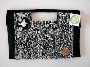 Bolsa-pasta tear com algodão R$ 48